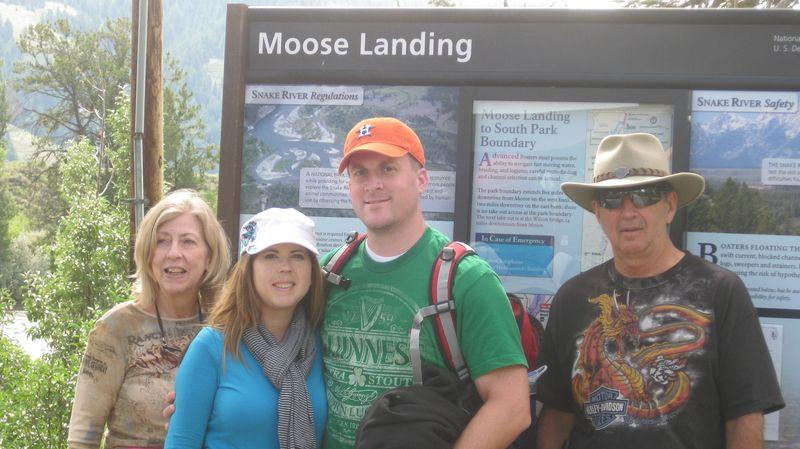 Snake river Moose Landing