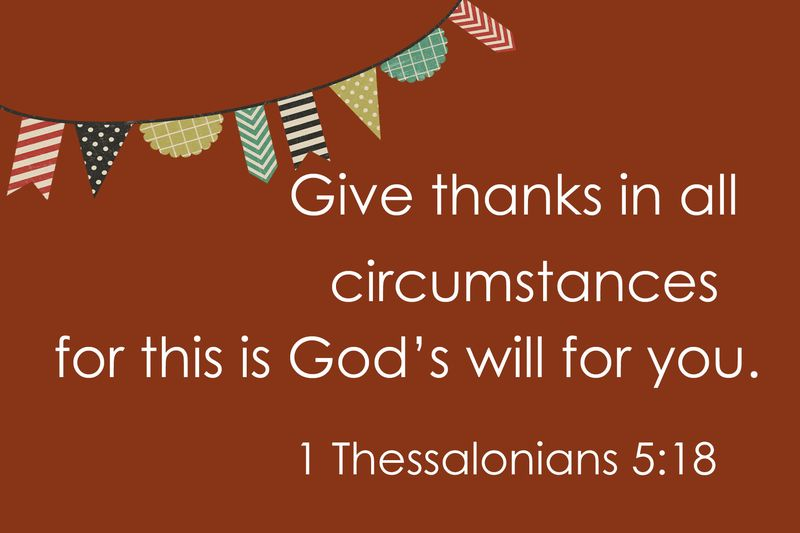 Thanksgiving verse