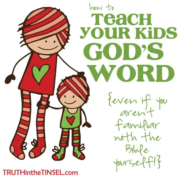 Teaching-kids-scripture-truth-tinsel