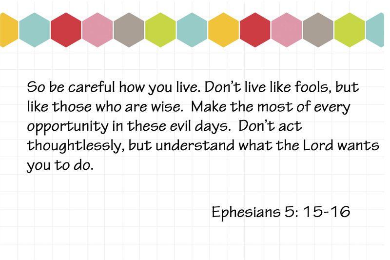 Ephesians 5 15